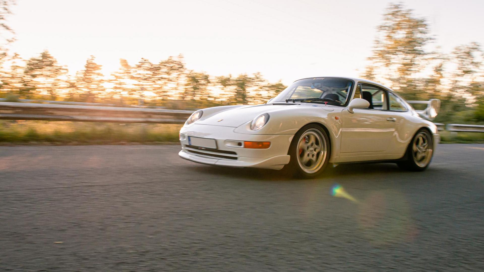 993 RS driving